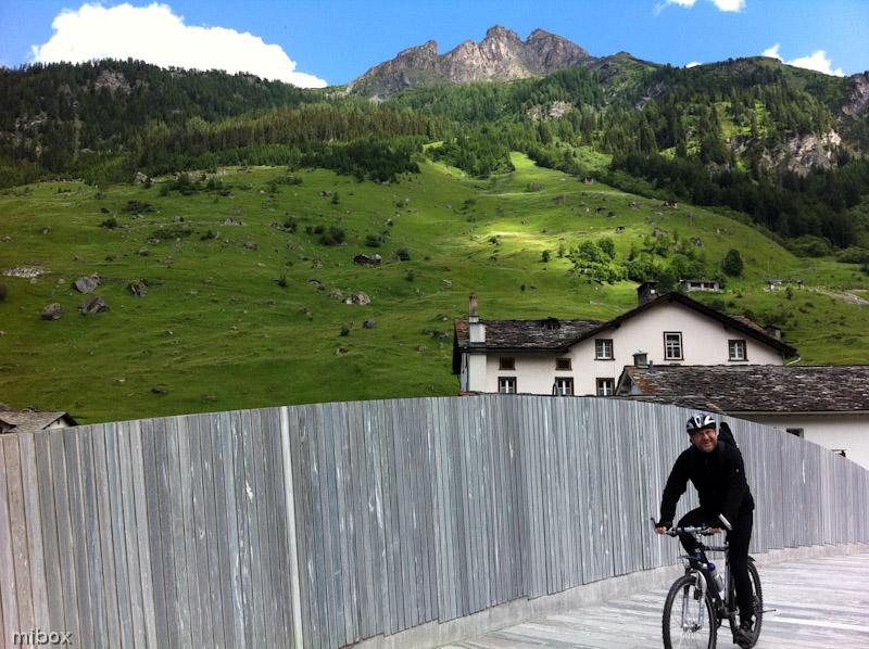 Granitbrücke in Vals