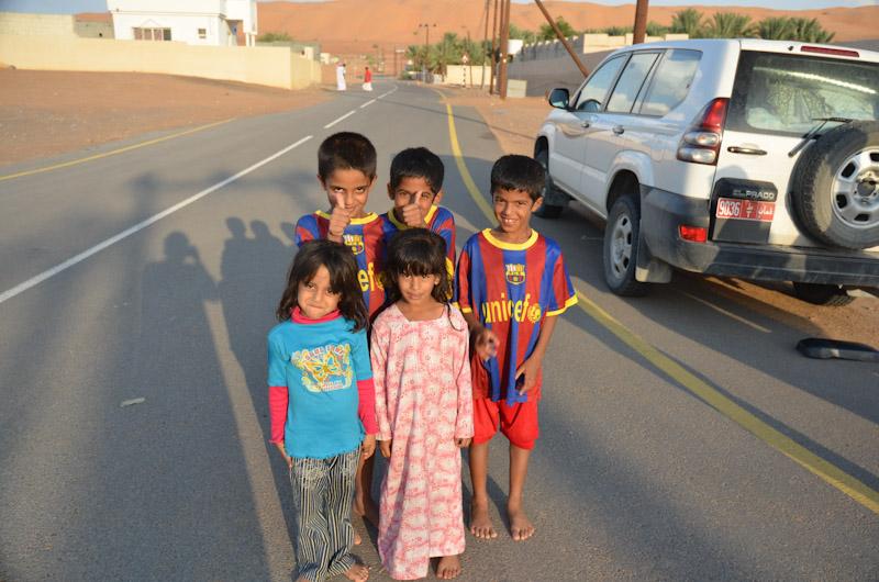Kinder in Al Minitirib